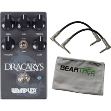 Wampler Dracarys High Gain Distortion Pedal w Patc