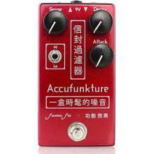 Accufunkture Auto-Wah Envelope Filter Pedal