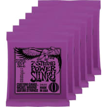 2620 7-String Power Slinky Electric String 6-Pack