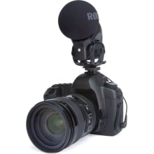 Stereo VideoMic Pro On-Camera Microphone