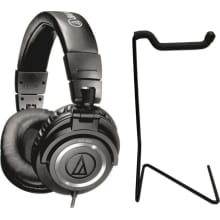 ATH-M50x Monitor Headphone Bundle