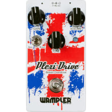 Plexi Drive British Overdrive w/Top Mounted Jacks