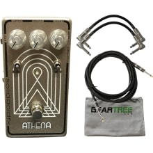 SolidGoldFX Athena VibraPhase Effects Pedal w/ Gea