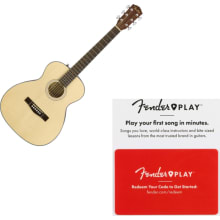Fender 0961713021 CT-60S Acoustic Guitar - Travel