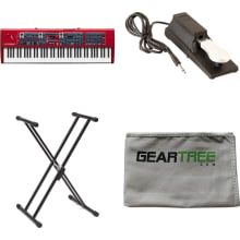 Nord Stage 3 HP76 76-key 76-note Hammer Action Por