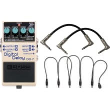 DD-7 Digital Delay Pedal Bundle