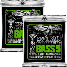 3836 Coated Slinky Bass 5-String 2-Pack