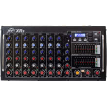 XR-S Powered Mixer 1000 Watts 8-Channel Mixer