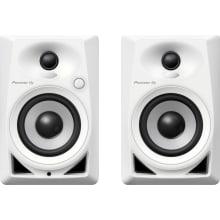 Pioneer DJ DM-40-W 4inch Compact White Active Moni