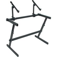Z-726 Heavy Duty Height Adjustable Two Tier Stand