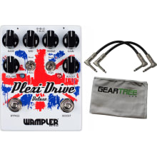 Wampler Plexi-Drive DELUXE British Overdrive Pedal