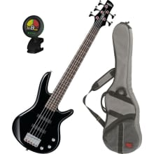 GSRM25 Mikro Electric Bass Guitar Bundle