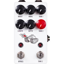 Spring Tank Reverb Effects Pedal