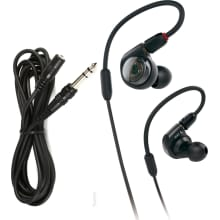 ATH-E40 In-Ear Monitor Bundle