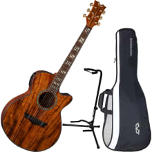 PE KOA Performer Acoustic-Electric Guitar Bundle