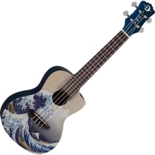 GWC Great Wave Concert Ukulele w/Bag