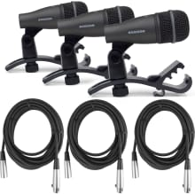 DK703 Drum Microphone 3-Piece Kit Bundle