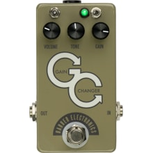 Barber Gain Changer SR Olive Grey Overdrive Effect