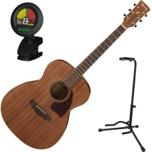 PC12MHOPN Grand Concert Acoustic Guitar Bundle