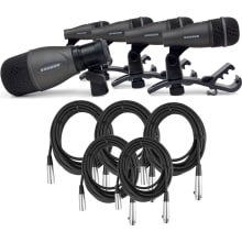 DK705 Drum Microphone 5-Piece Kit Bundle