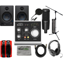 iD4 2-Channel USB Audio Interface Bundle