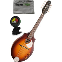 S8 Sunburst Acoustic-Electric Mandolin Bundle