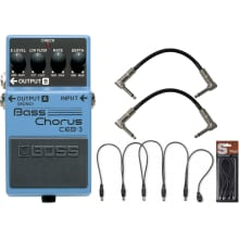 CEB-3 Bass Chorus Pedal Bundle