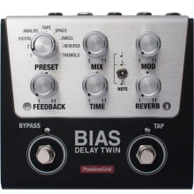 BIAS Delay Twin 2-Button Customizable Pedal