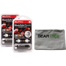 Musicsafe Classic Earplug 2PK w/Cloth
