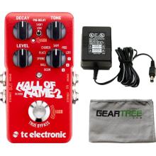 Hall of Fame 2 Reverb Guitar Pedal Bundle