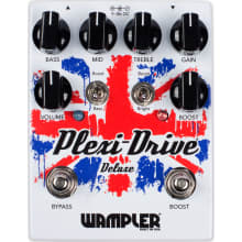Plexi Drive Deluxe British Overdrive Updated Pedal