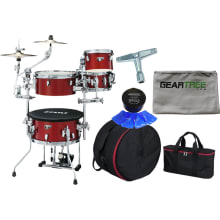 Cocktail-JAM Mini CPM 4pc Drum Shell Pack Bundle