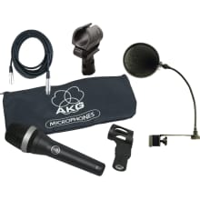 D5 Dynamic Supercardioid Microphone Bundle