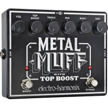 XO Metal Muff With Top Boost Distortion Pedal