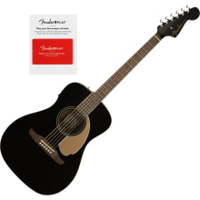 Fender Malibu Player Jetty Black Acoustic-Electric