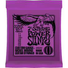 Nickel Power Slinky 7-String Electric Strings