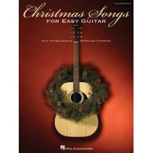 Christmas Songs for Easy Guitar Book