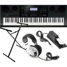WK-7600 76-Key Workstation Keyboard Bundle