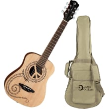 Safari Peace Travel Guitar w/ Gig Bag