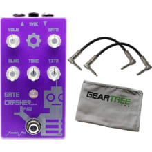 Function-fx Gate Crasher Octave Fuzz Pedal Bundle