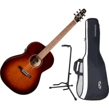041886 Entourage Folk QIT A/E Guitar Bundle