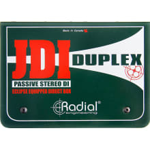 JDI Duplex Mk4 Stereo DI Passive Direct Box