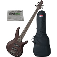 Yamaha TRBX505TBN Trans Brown 5 String Bass Guitar