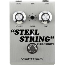 Steel String Clean Drive Effects Pedal