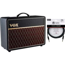 AC10C1 10-Watt Tube Electric Combo Amp Bundle