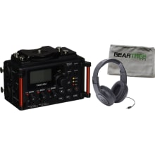 DR-60DmkII 4-Track Portable Recorder Bundle