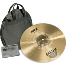 Sabian FRX1606 FRX Series 16in Crash Cymbal Bundle