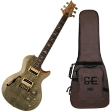 SE ZM3 Zach Myers Semi-Hollow Guitar with Gig bag