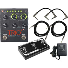 Digitech Trio+ Band Creator + Looper w/ FS3X Foot