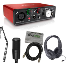 Scarlett Solo Studio USB Audio Interface Bundle
